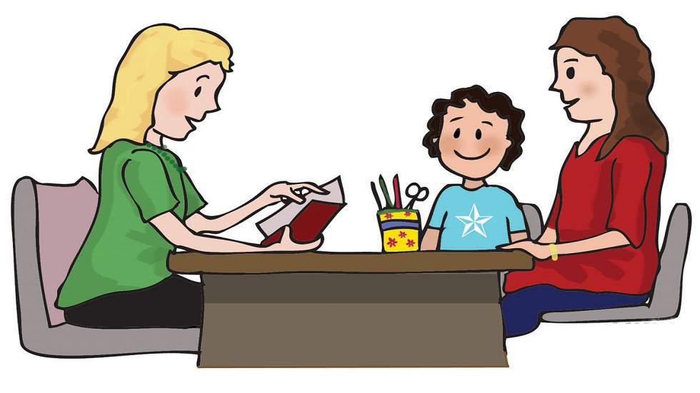 Image result for parents discussing clipart